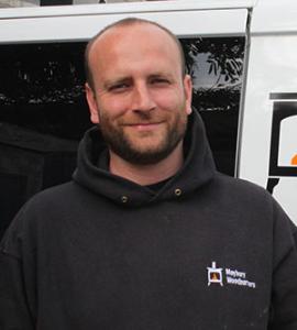 Duncan Maybury, Hetas woodburner installer Bristol